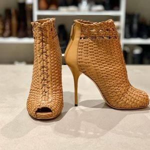 GUCCI WOVEN ANKLE BOOT